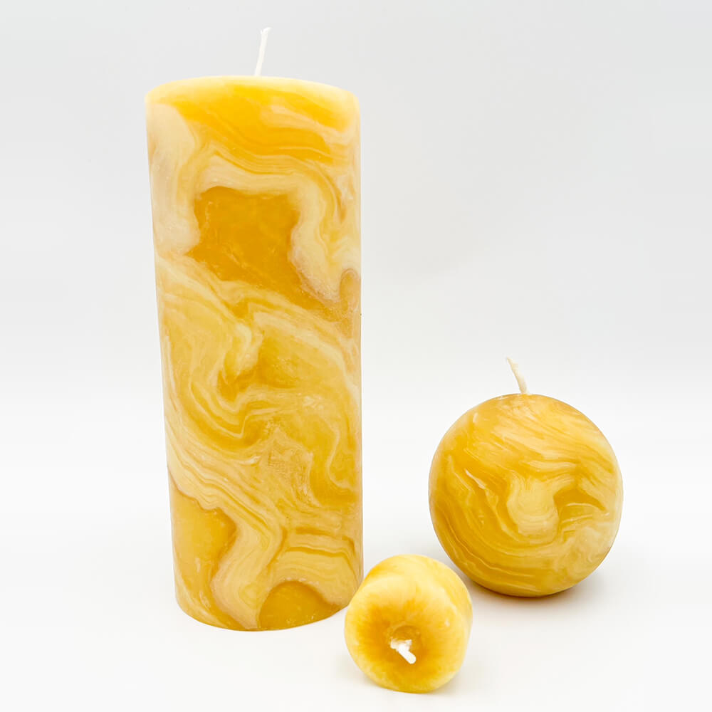 Produktfoto Bienenwachskerzen